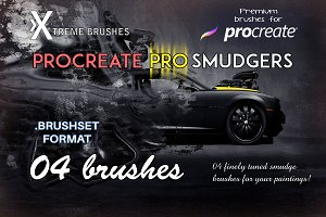 Procreate Pro Smudgers