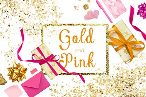 Gold and Pink Scene Creator