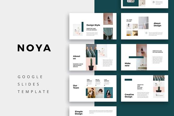 noya google slides template presentation templates creative market