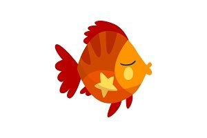 Cute fish, little sea creature