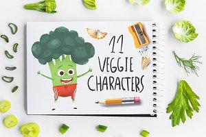 Veggie characters