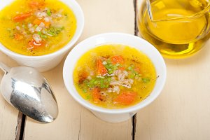 Syrian barley broth soup Aleppo style called talbina 020.jpg