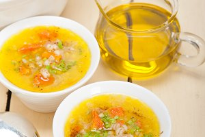 Syrian barley broth soup Aleppo style called talbina 003.jpg