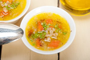 Syrian barley broth soup Aleppo style called talbina 022.jpg