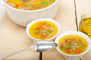 Syrian barley broth soup Aleppo style called talbina 031.jpg