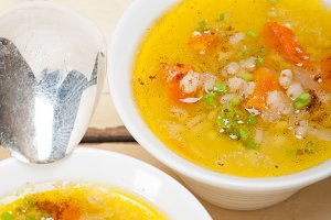 Syrian barley broth soup Aleppo style called talbina 033.jpg