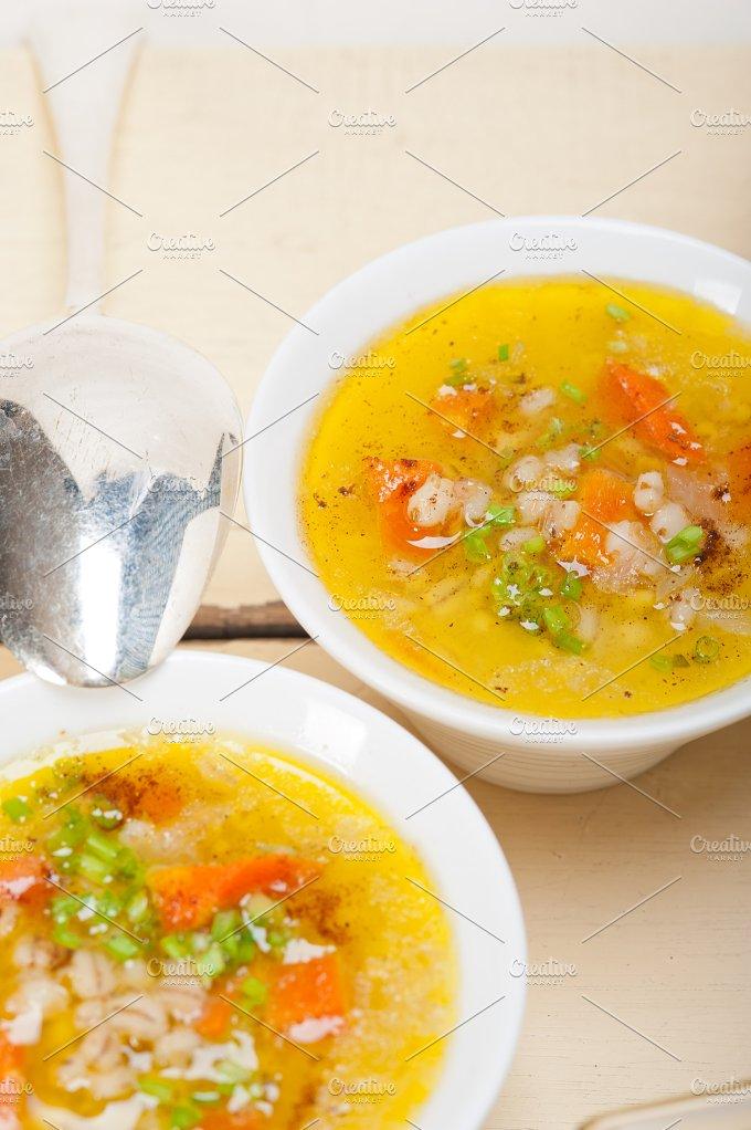 Syrian barley broth soup Aleppo style called talbina 033.jpg - Food & Drink