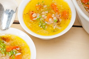 Syrian barley broth soup Aleppo style called talbina 035.jpg