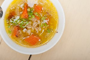 Syrian barley broth soup Aleppo style called talbina 045.jpg