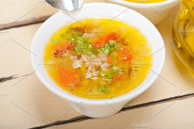 Syrian barley broth soup Aleppo style called talbina 049.jpg - Food & Drink