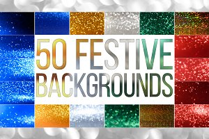 50 Festive bokeh backgrounds