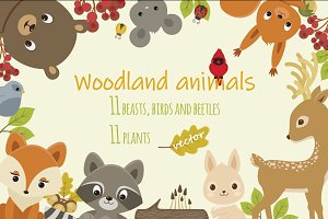 Woodland Animals Bundle