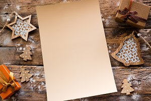 empty christmas letter