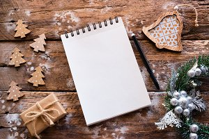 blank page for christmas letter