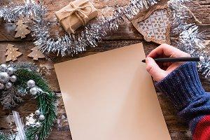 writing a wish list