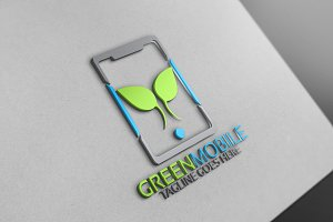 Green Mobile Logo