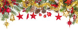 Christmas ornaments decoration fir