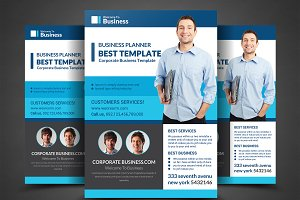 Business Inovation Flyer Psd