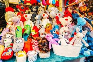 Handmade bear toys