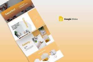 Sayurkol - Google Slides Template