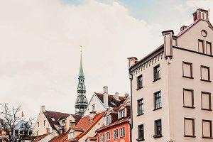 Livu square Riga Christmas market