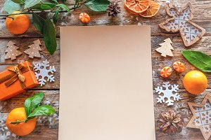 christmas letter with a wishlist