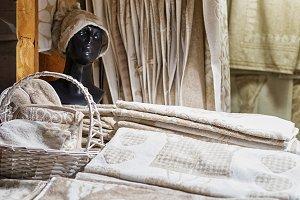 Handmade linen souvenirs