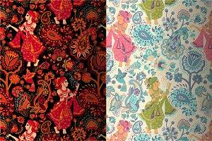 2 Paisley pattern