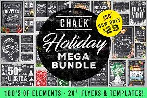 Mega Chalk Holiday Bundle (60% off)