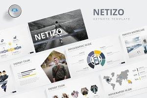 Netizo - Keynote Template