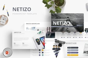 Netizo - Powerpoint Template