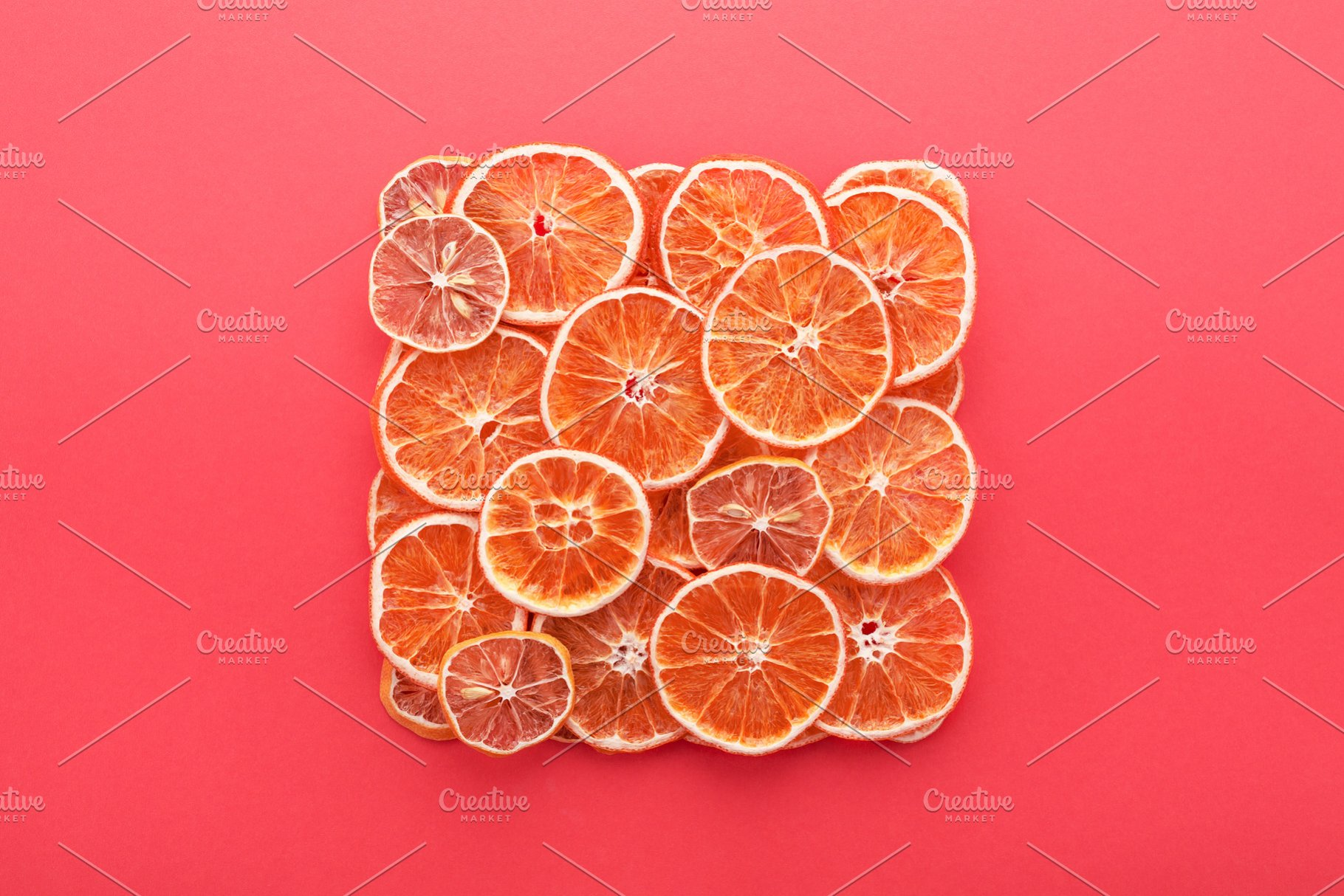 Dried Citrus Slices Lemons Oranges Abstract Photos Creative Market