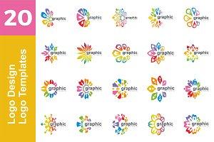 20 Logo Logo Design Templates Bundle