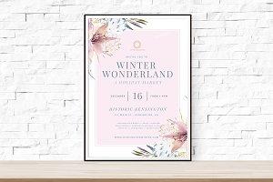 Winter Wonderland Winterfest Flyer