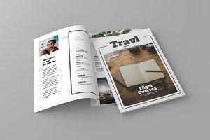Magazine Template Vol. 13