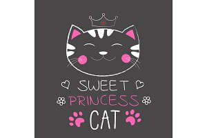 Cute cat princess.