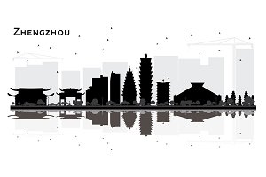 Zhengzhou China City Skyline