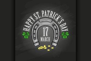 Lettring for Saint Patricks Day