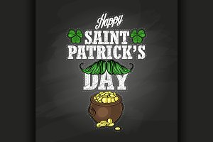 Sticker for Saint Patricks Day
