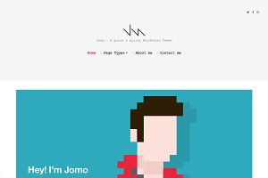 Jomo - A Quick & Quirky Theme
