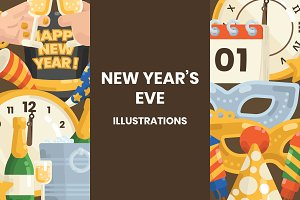 New Year's Eve Illustrations