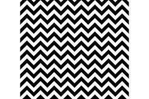 Black and white Zig zag seamless