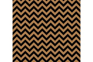 Gold and black Zig zag seamless