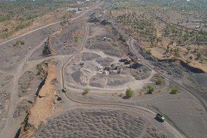 Gravel and sand quarry