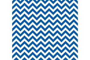 Blue and white Zig zag seamless