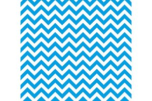 Blue and white Zig zag seamless