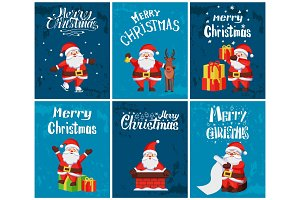 Merry Christmas, Santa Claus with