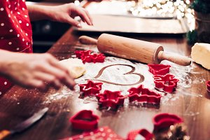 Christmas Baking: Heart