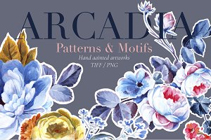Arcadia, Curated & Hand Painted!