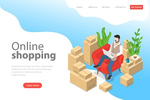 landing page of easy shopping